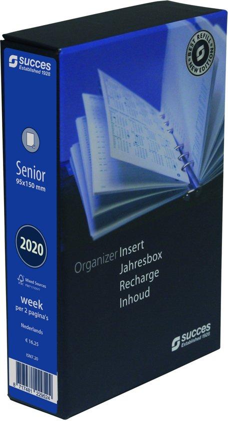 Afbeelding van Agendavulling Succes Senior 2020 - 7 Dagen