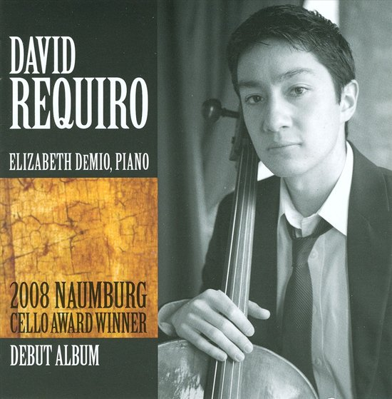 2008 Naumburg Cello Award Winner