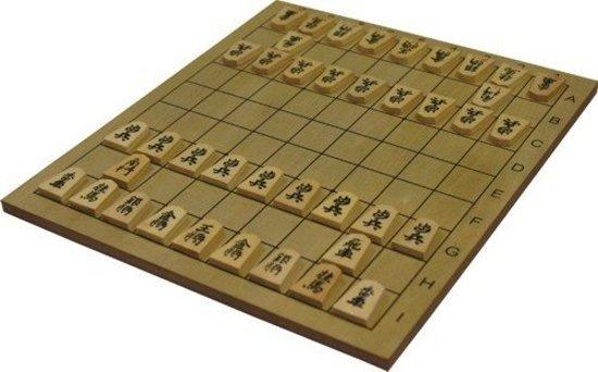 Shogi spel Japans schaak bord