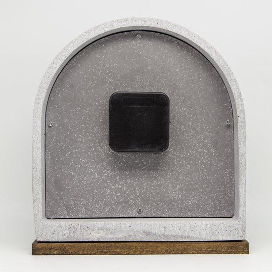 NeXtime Concrete Love Table Tafelklok 24,5 x 17,5 cm