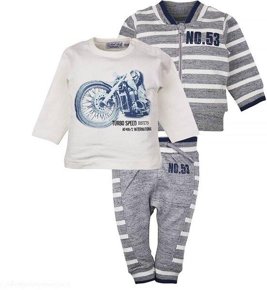 Babykleding Maat 86.Bol Com Babykleding Setje So Fresh Speed Off White Dirkje Maat 86