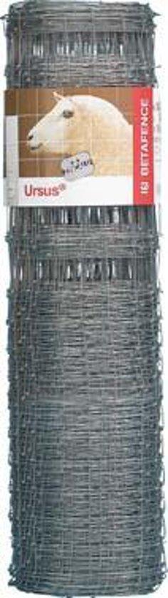 NODAFORT - Schapengaas (zware kwaliteit) - Zincalu bedekking - Hoogte: 130cm - rol 50mtr