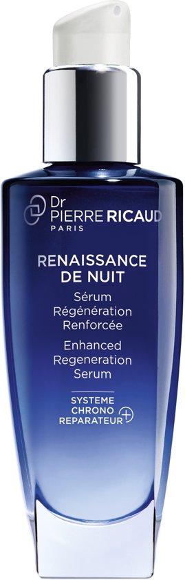 Dr. Pierre Ricaud - Anti-Aging-Serum met onmiddellijke werking - RENAISSANCE DE NUIT - Regenererend nachtserum voor het gezicht - Zichtbaar gladdere huid - Anti-Wrinkle Night Care Serum voor - 30 ml flesje