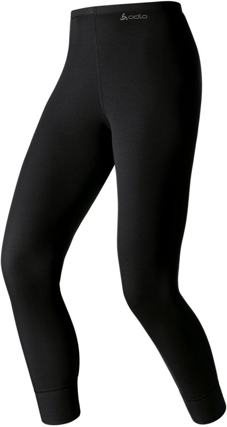 Odlo Bl Bottom Long Active Warm Dames Sportonderbroek - Black - Maat XS