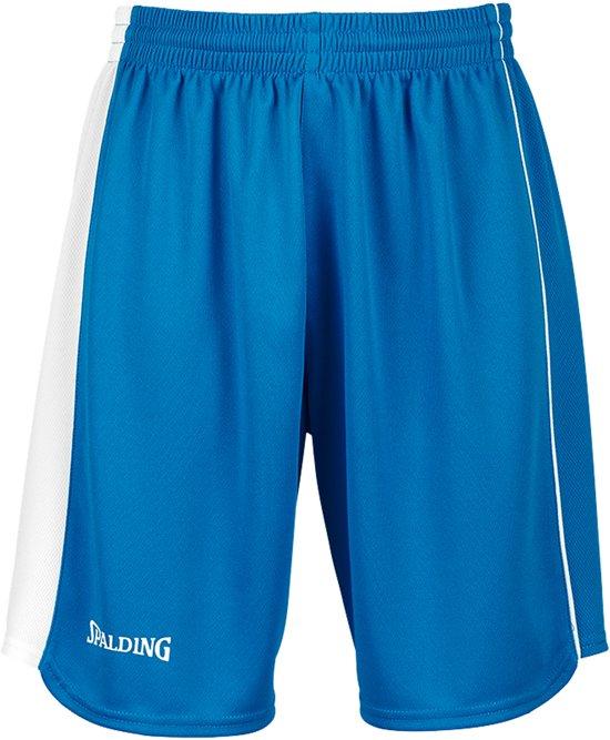 Spalding 4HER II  Basketbalbroek - Maat L  - Vrouwen - blauw/wit