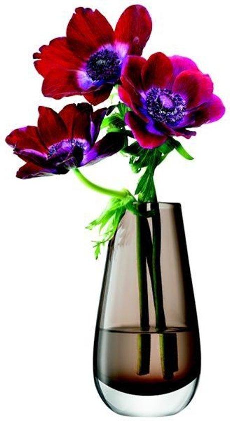 L.S.A. Flower Colour Vaas Bud - Rond - 14 cm - Bruin
