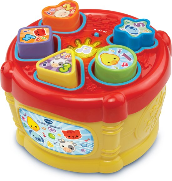 Afbeelding van VTech Baby Vormentrommel - Vormenstoof speelgoed
