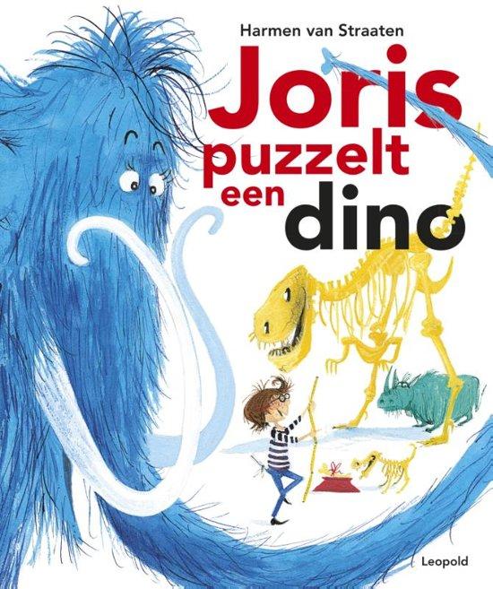Boek cover Joris puzzelt een dino van Harmen van Straaten (Hardcover)