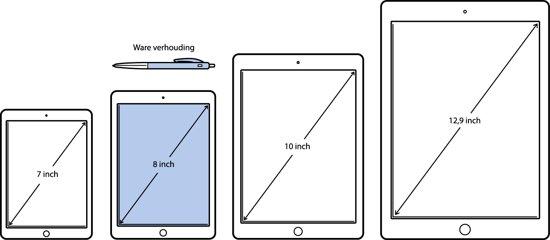 Samsung Galaxy Tab A 8.0 Zwart 2017