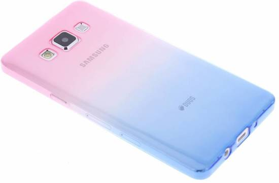 Bicolor Bleu / Jaune Tpu Etui En Silicone Pour Le Samsung Galaxy A5 (2016) PLnhHwbemm