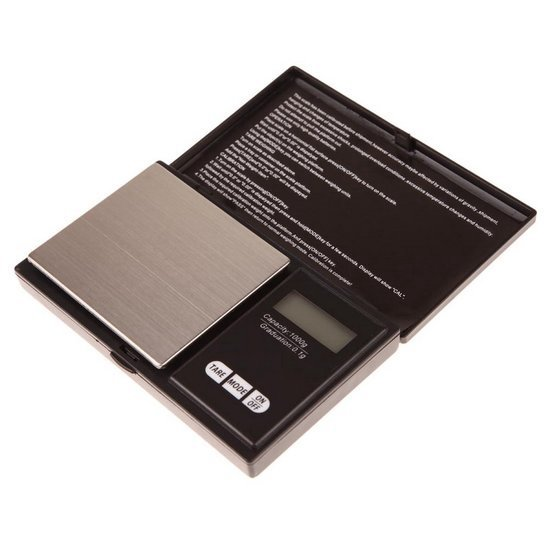 Mini weegschaal / Digitale weegschaal / Precisie weegschaal / Keuken weegschaal /  Zakweegschaal - Van 0,1 tot 1000 gram
