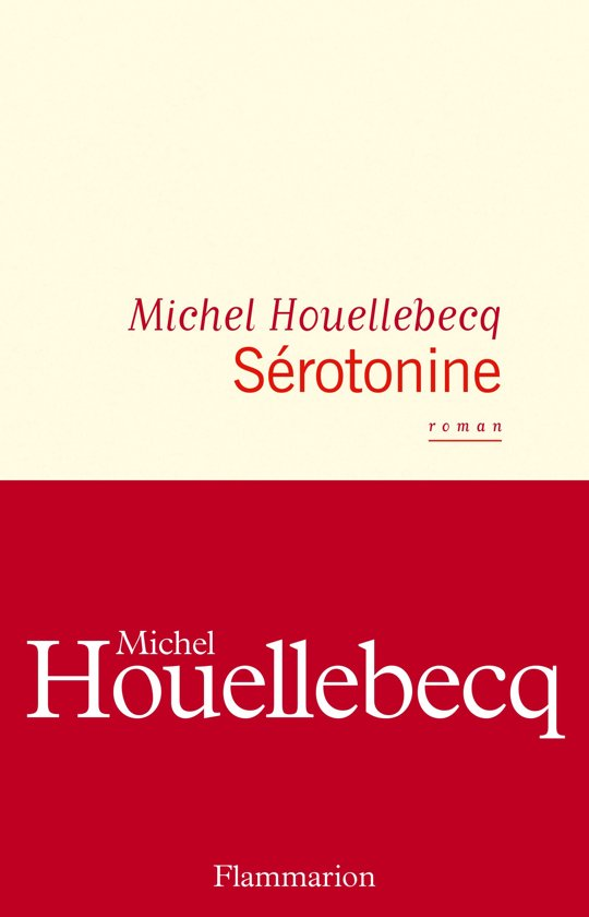 Boek cover Sérotonine van Michel Houellebecq (Onbekend)