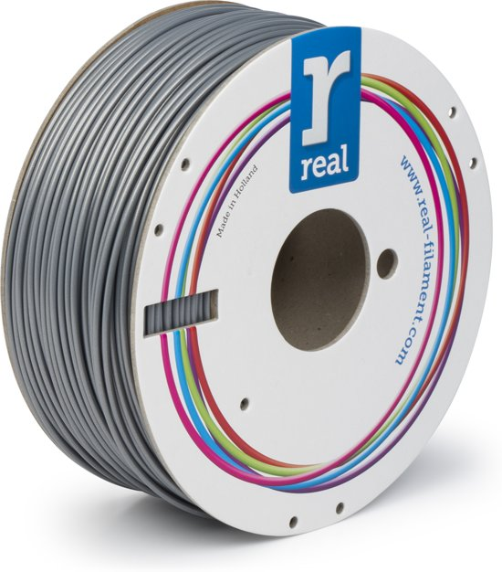 REAL Filament ABS zilver 2.85mm (1kg)