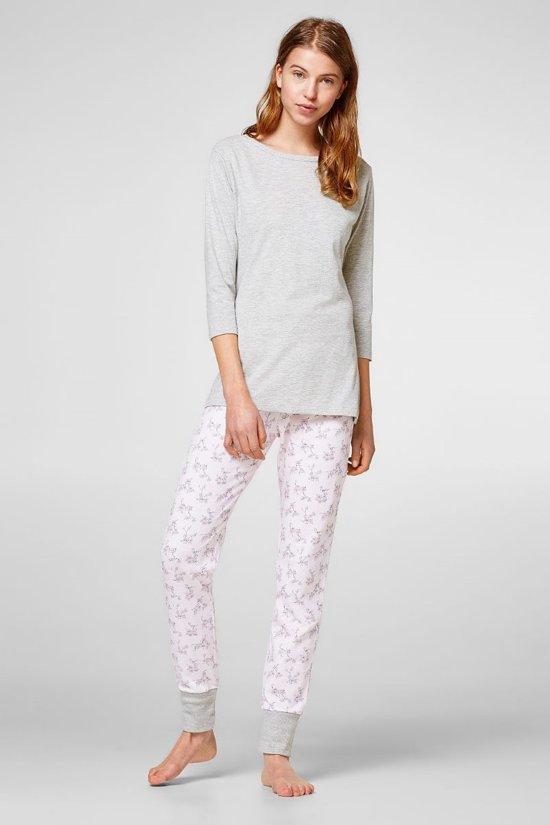 49d6e4d5ca8 Dames pyjama van Esprit grijs roze