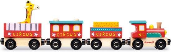 Janod Story Trein Circus Magnetisch