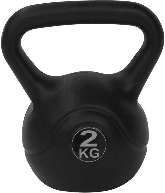 RS Sports Aerobic - Kettlebell - 2 kg - Zwart