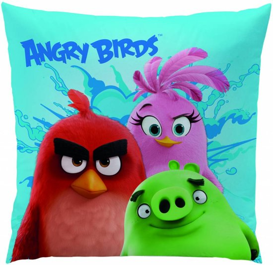 Angry Birds Explosion - Kussen - 40 x 40 cm - Multi