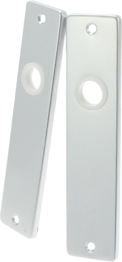 Kortschild Blind Aluminium F1