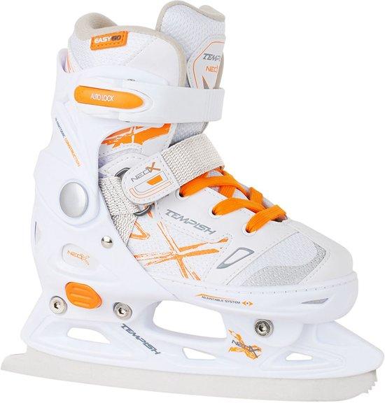 Tempish Kunstschaatsen verstelbaar NEO-X ICE Girl Wit/Oranje 37-40