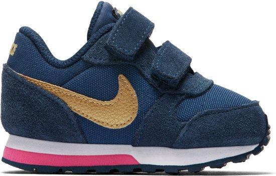 wholesale dealer 4becc 28a36 Nike MD Runner 2 (TDV) Sneakers - Maat 22 - Unisex - blauw