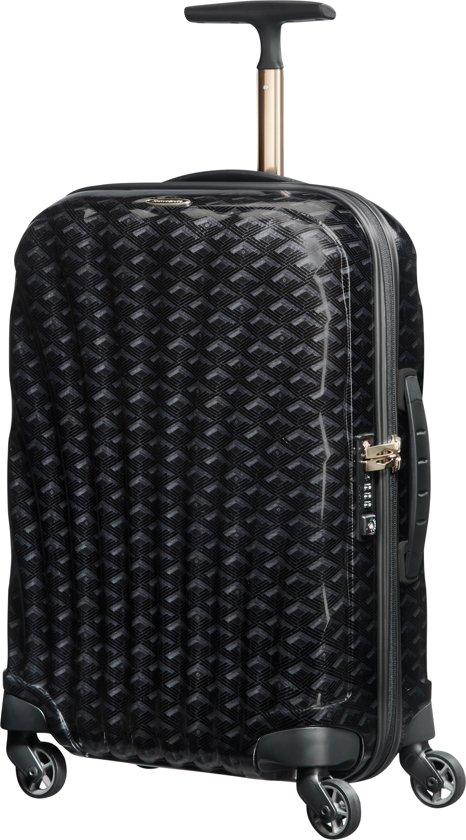 Samsonite Cosmolite Spinner Spinner Reiskoffer (Handbagage) - 36 liter - Black Print