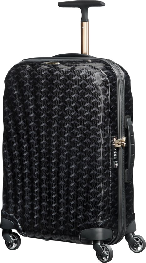 Samsonite Reiskoffer - Cosmolite Spinner 55/20 Limited Edition (Handbagage) Black Print