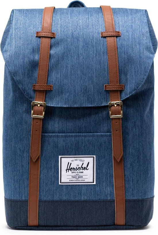 e5d55595f48 bol.com | Herschel Supply Co. Retreat Rugzak - Faded Denim / Indigo ...
