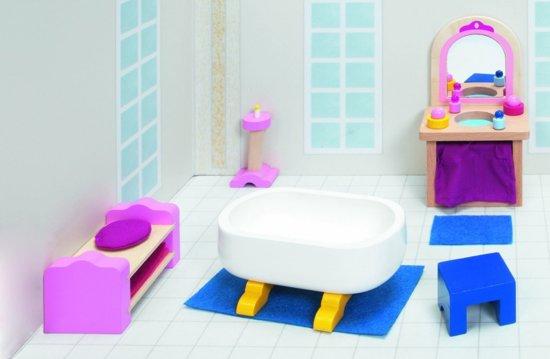 Badkamer Voor Poppenhuis : Badkamer maan en muis online speelgoedwinkel van houten