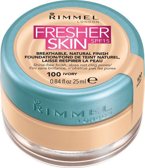 Rimmel London Fresher Skin - 100 Ivory - Foundation