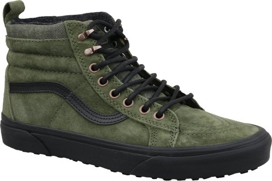 Mooi Mooi Heren Schoenen Vans Sk8 Hi MTE Leather