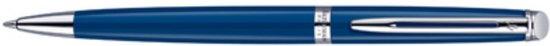 Waterman Hémisphère Laque White CT Balpen - Medium Penpunt - Blauwe inkt