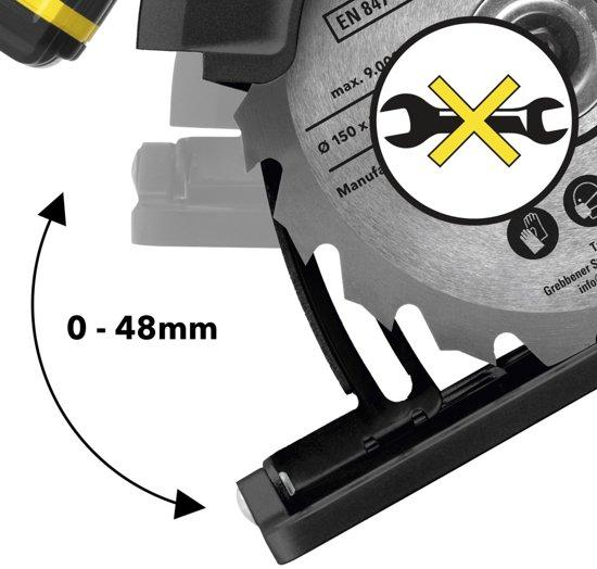 Trotec accu handcirkelzaag PCSS 10-20V & accu werklamp PWLS 10 (zonder accu)