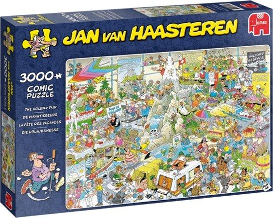 Jan van Haasteren Puzzel Vakantiebeurs 3000 Stukjes