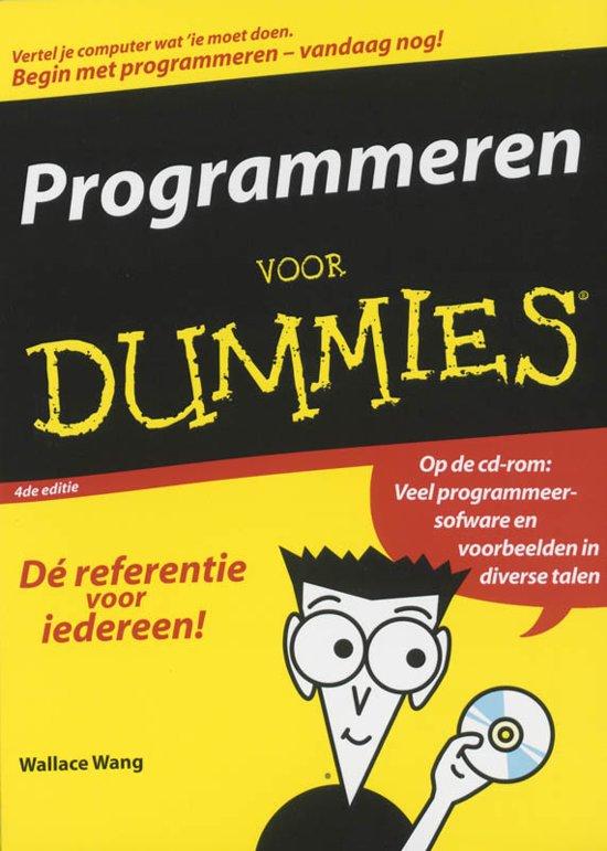 Programmeren Voor Dummies Pdf
