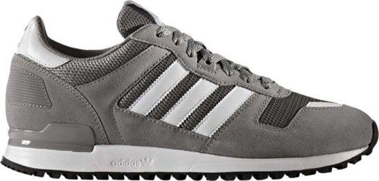 b1188ff5aa5 Adidas ZX 700 S76175 - Heren Sneakers - Adidas Sneakers - Grijs / Wit - Maat