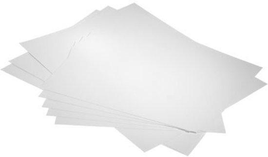 Achterkarton Wit 21,6x27,9cm Bainbridge Alphamount ArtCare (25 stuks)