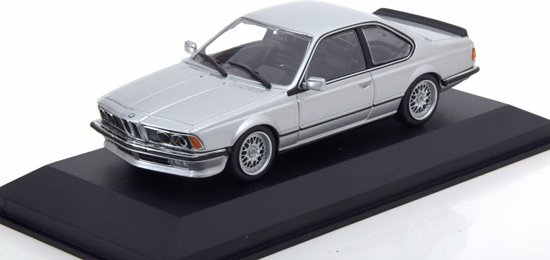 BMW 635 CSI 1982 Zilver 1-43 Maxichamps