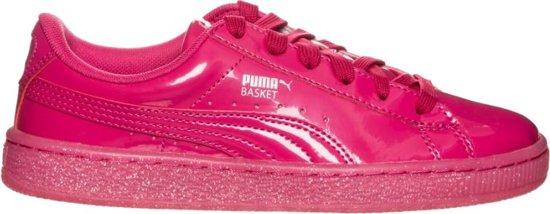 Puma Sneakers Panier Paillettes Roze Junior Glacé Brevet oAv11