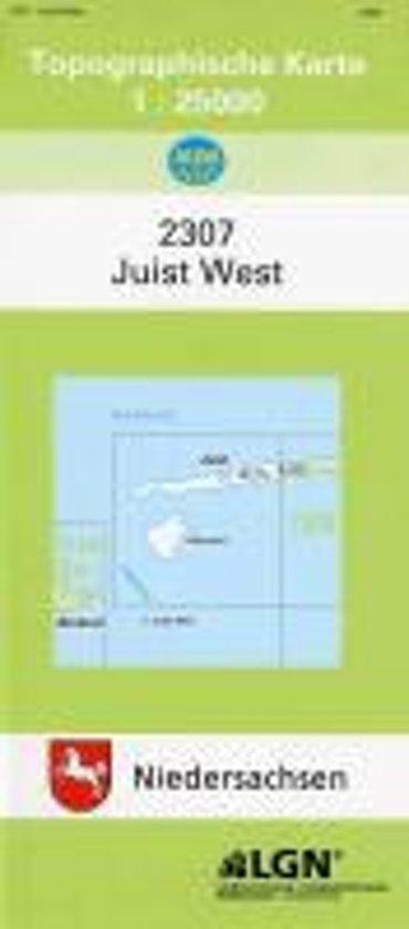Juist West 1 : 25 000. (TK 2307/N)