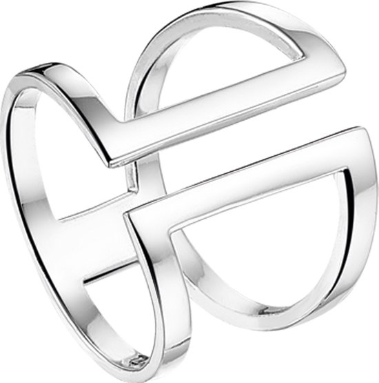 The Jewelry Collection Multi-ring - Zilver