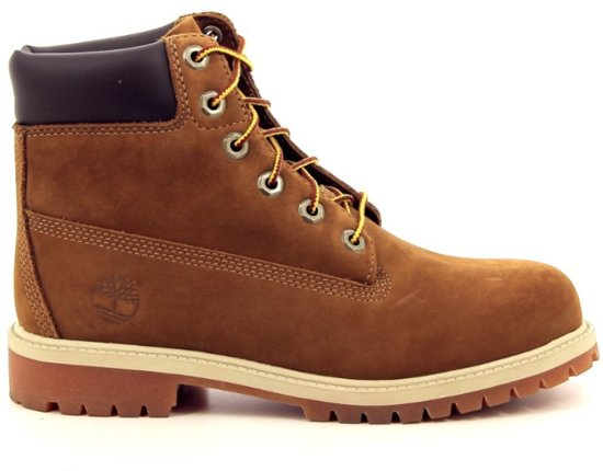10519ff7a2a112 bol.com | Timberland Jongens Boots Premium 6 inch - Bruin - Maat 39,5