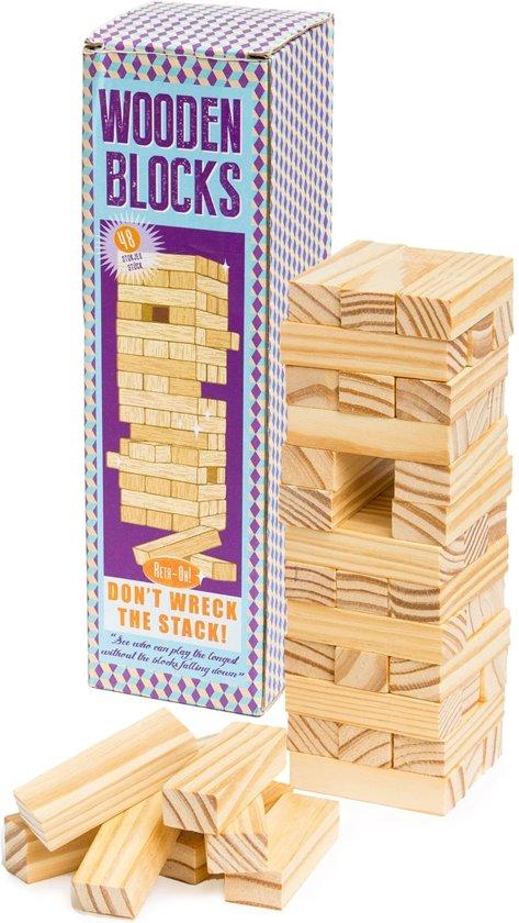 Afbeelding van het spel Houten Stapeltoren spel