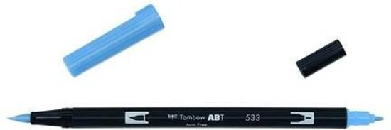 Tombow ABT dubbele brushpen peacock blue ABT-533