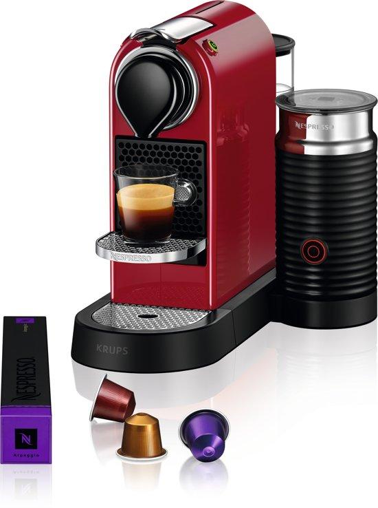 Krups Nespresso Citiz & Milk XN7615 Kersenrood