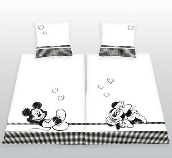 His Hers Kussensloop.Bol Com Disney Mickey Minnie Mouse Her Side His Side