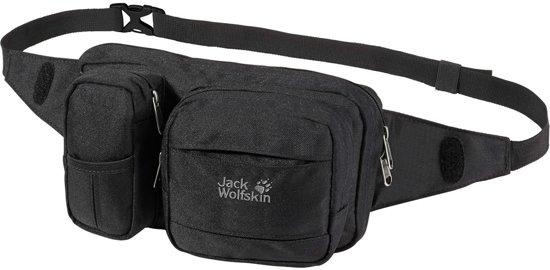 Jack Wolfskin Heuptas - Unisex - zwart