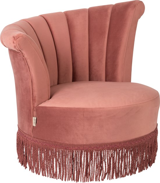 Dutchbone Flair - Fauteuil - Roze