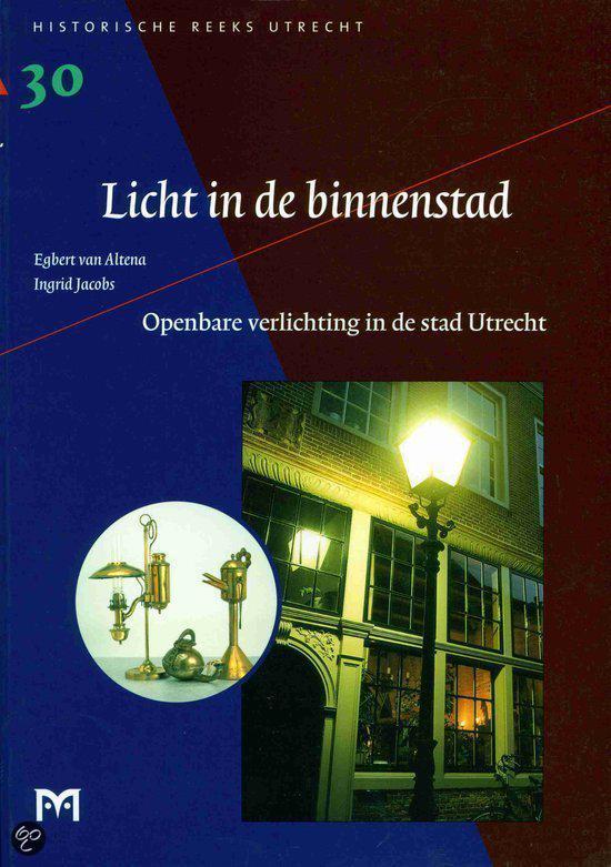 bol.com | Openbare verlichting in de stad Utrecht | 9789053451694 ...