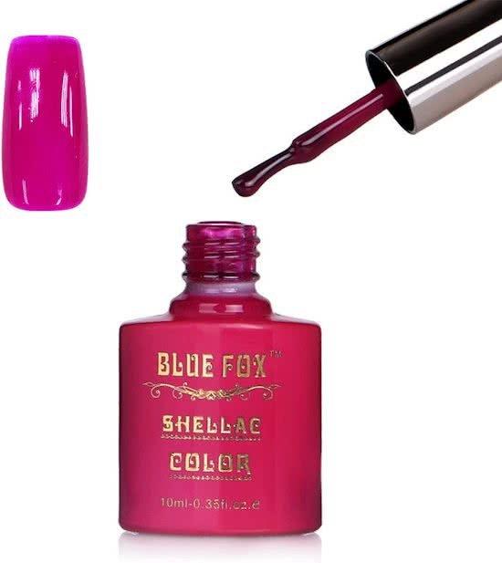 Blue Fox Charm Pink Gelnagellak