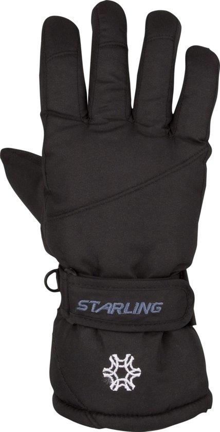 Starling en Taslan Zwart - Wintersporthandschoenen - Kinderen - Zwart - Maat 5.5